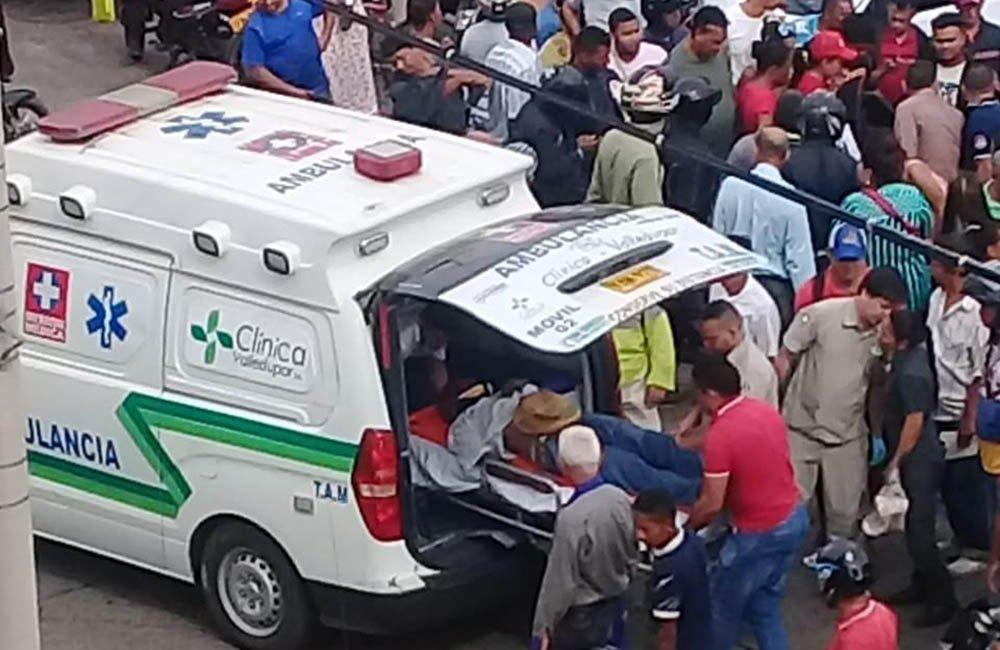 Jose Alberto Lopez Pinto, DE 76 años, quien fue arrollado por un motociclista el pasado 10 de junio en el barrio Gaitán en Valledupar, murió ayer en la mañana en una clínica de la ciudad.